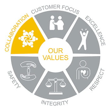 Our Values: Collaboration
