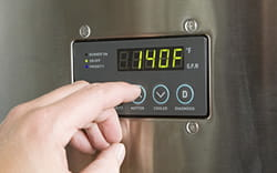 hot water thermostat temperature controls