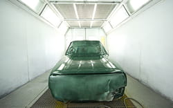 automotive industry painting process heating