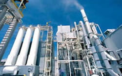 chemical plant heating controls