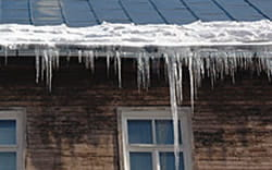 heat trace gutter ice controls