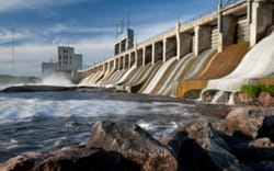 hydroelectric power generation heating and controls