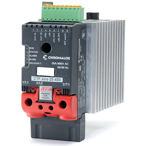 CTF-XTRA Single Phase Advanced SCR Power Controller