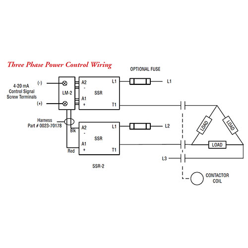 LM-2 Three Phase Control Wiring