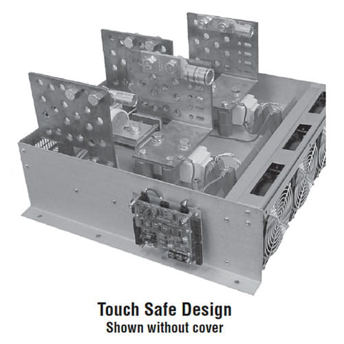 MaxPac 2 Power Controller Touch Safe Design