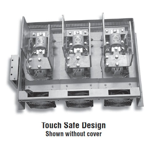 MaxPac 3 Power Controller Touch Safe Design