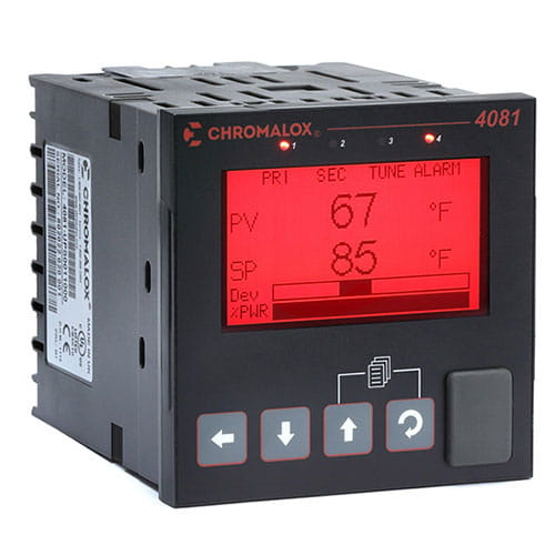 4081 Advanced Temperature & Process Controller 1 & 2 Loop 01