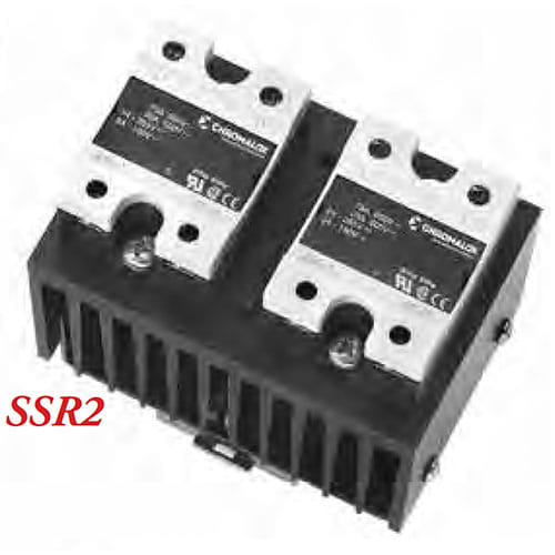 SSR2 3-phase, 2 leg, zero cross SSR power controller