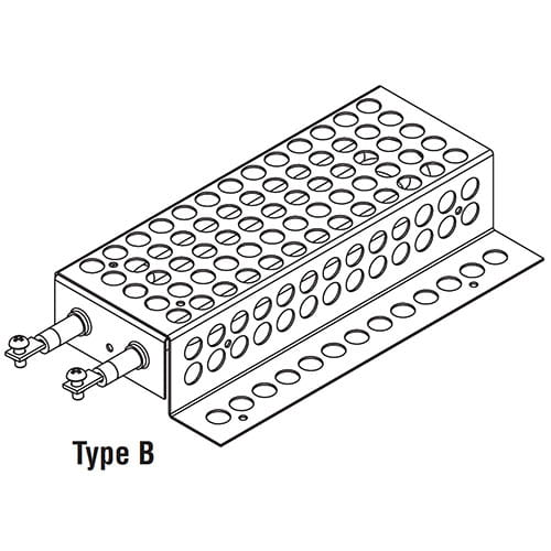 TEH Tubular Enclosure Heaters Type B