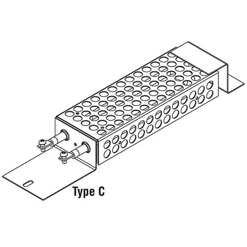TEH Tubular Enclosure Heaters Type C