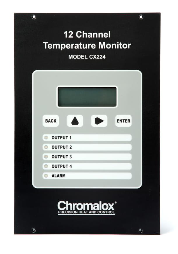 chromalox cx224 12-Channel Temperature Monitor