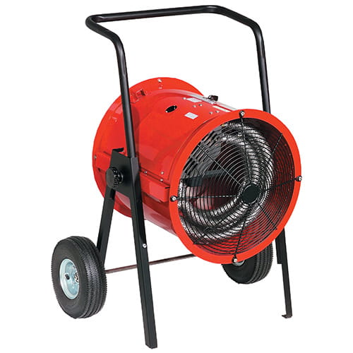 Chromalox Portable Spot Industrial Blower Heater