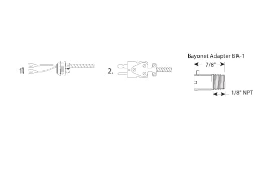 Bayonet Thermocouple 04