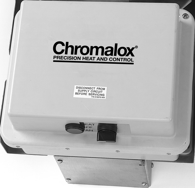 chromalox Hose Down Corrosion Resistant Blower Heater hd3d 04