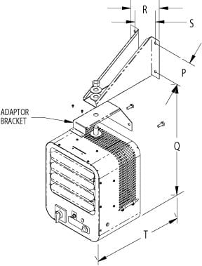 Horizontal or Vertical Discharge Fan Forced Unit Heater