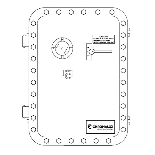 explosion proof mini contactor control panel
