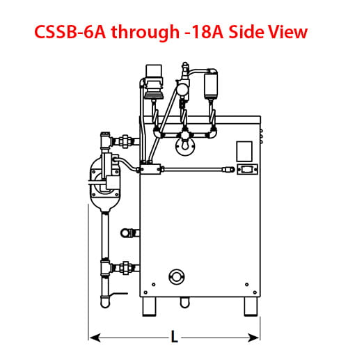 Stainless Steel Vertical Steam Boiler