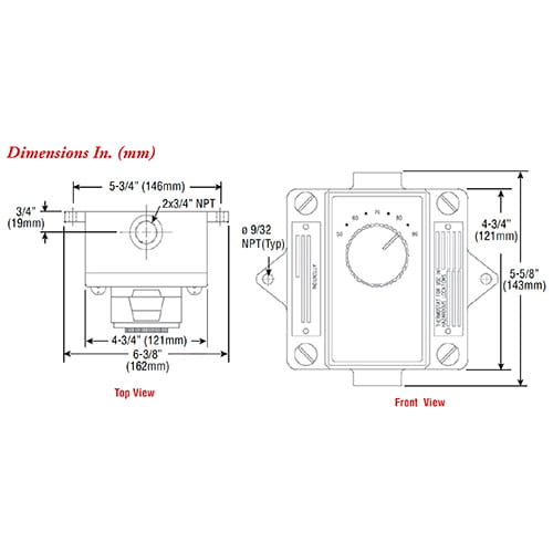EPETD-8D Explosion Proof Room Thermostat 02