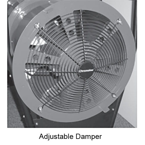 SDRA Adjustable Damper