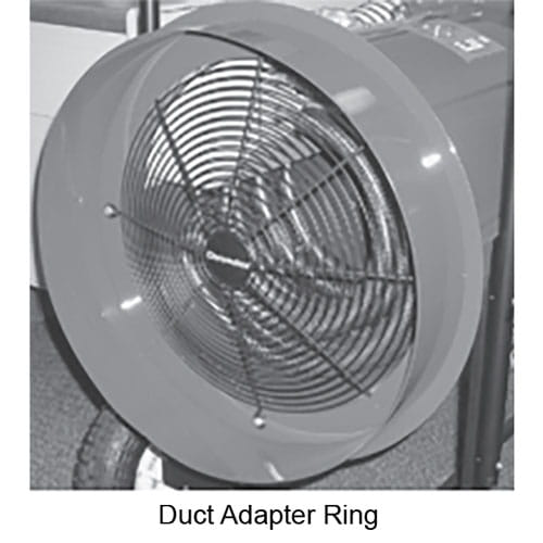 SDRA Duct Adapter Ring