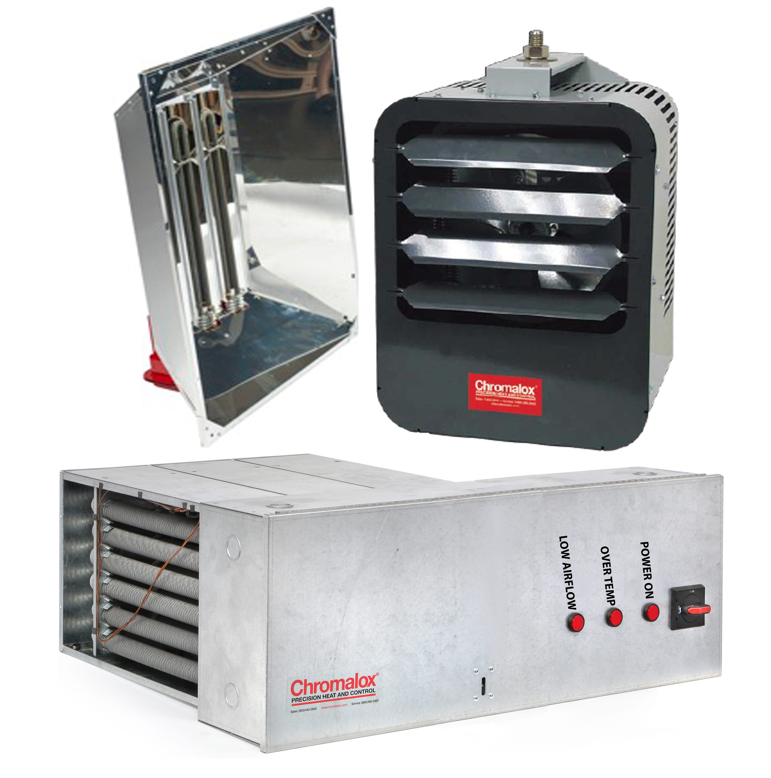 Industrial Air and Infrared Radiant Heaters