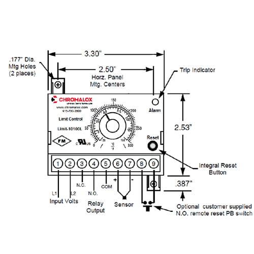 Temperature Limit Controller