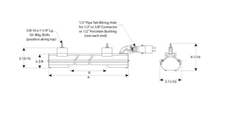 Single Element Radiant Heater Rad