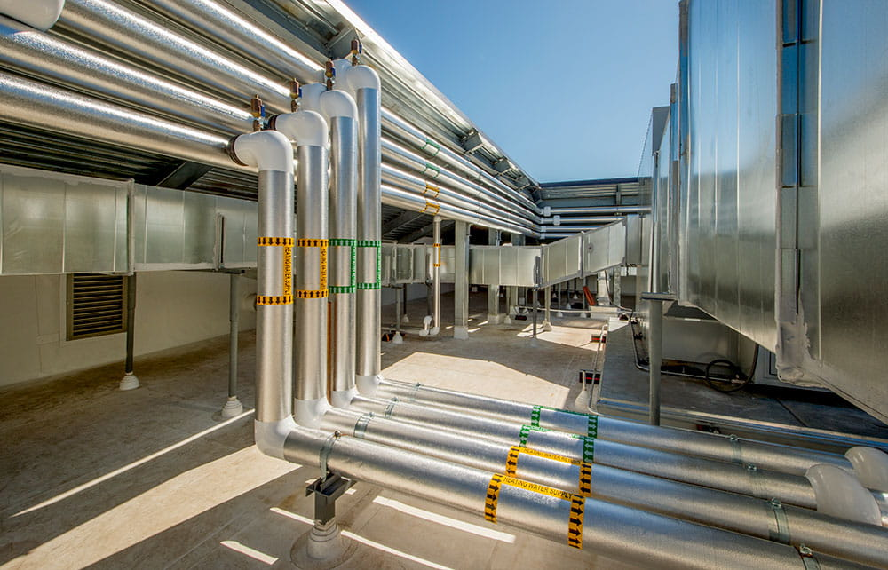 Commercial Heat Trace Pipe Freeze Protection