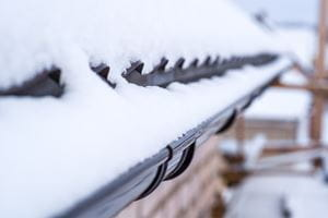 Commercial Heat Trace Gutter Ice