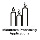 Midstream Processing-Anwendungen Icon