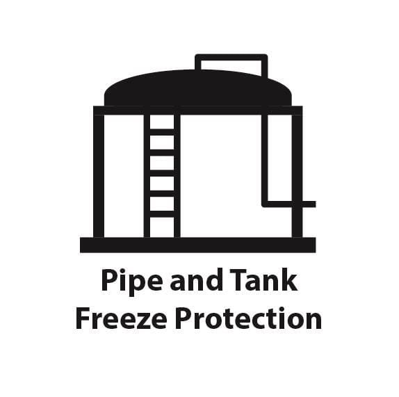 Pipe and Tank Freeze Protection