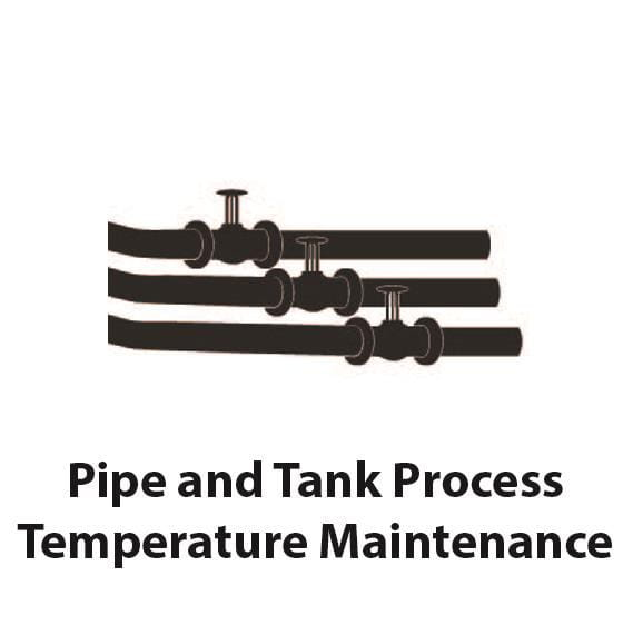 Pipe and Tank Process Temperature Maintenance