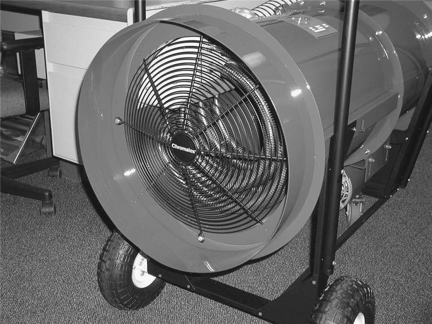High Heat Blower : Forced air heaters sdra portable high temperature