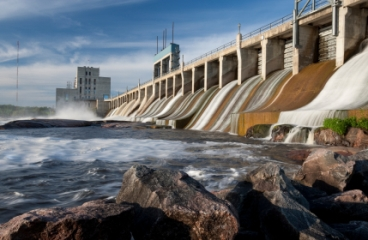 Freeze Prevention Saves Millions Downstream From Hydro Dam