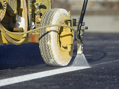 Finds Safe, Economical Way to Get Quality Asphalt Paint Coating
