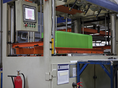 Rapid, Uniform Heat for Thermoplastic Forming