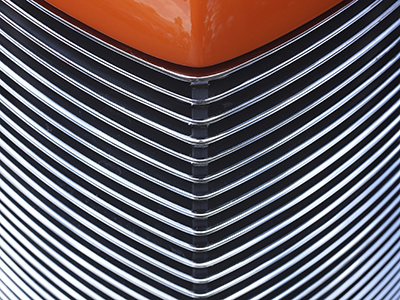 Radiant Heaters Bake Paint on Auto Grille