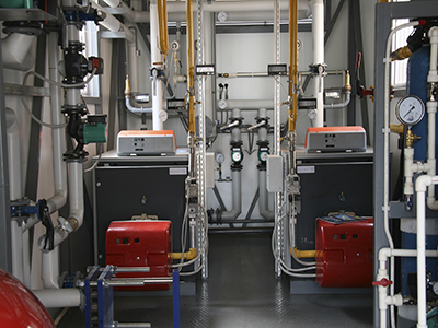Standby Boiler Ensures Uninterrupted Production