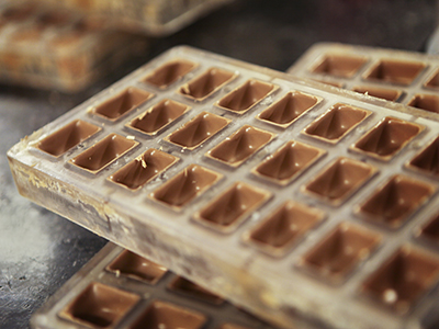 Warm Molds Make Better Chocolate