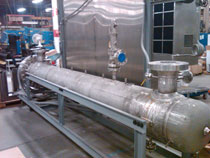 Custom Heating System Designed for Cryogenic Methane System